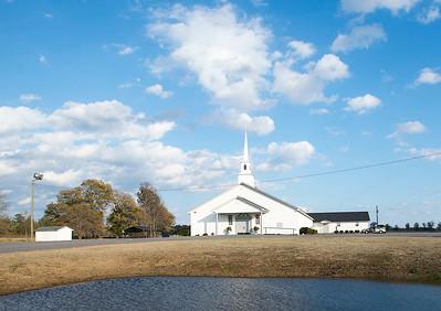 Flat Creek Baptist Church, Darlington
