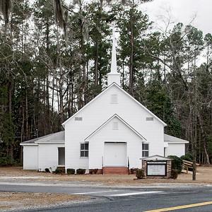 Hickory Grove Baptist Church, Brunson