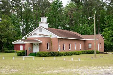Cherry Grove Christian Church, Brunson