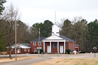 Sawmill Baptist Church, Hunts Bluff