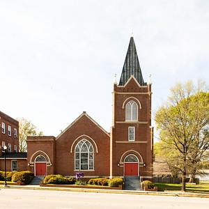 Whaley Street Methodist Church, Columbia