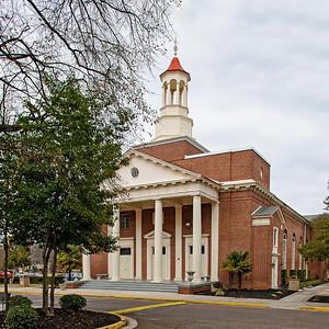 Antisdel Chapel, Benedict College Campus, Columbia