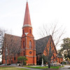"Christ Church Episcopal<br /> <br /> Historically, Christ Church is Greenville's oldest organized religious body (1820) as well as the city's oldest church building (1852-1854). It has traditionally been recognized as an outstanding example of Gothic architecture. Each addition has been in keeping with its style and original plan for a cruciform building. A magnificent stained glass window by Mayer of Germany is a memorial to Ellison Capers, rector of Christ Church (1866-88), bishop of the Diocese of South Carolina (1893-1908), and Confederate brigadier general. In the churchyard surrounding the building are buried former governor of South Carolina Benjamin Franklin Perry, several Greenville mayors, many Confederate war dead, and the first Greenville man lost in World War I. Also interred here are the parents and son of the first Bishop of the Diocese of Upper South Carolina, Vardry McBee, the ""Father of Greenville,"" and many other church and civic leaders. The Reverend John DeWitt McCullough is the credited architect. Listed in the National Register May 6, 1971."