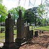 Old Greenwood Cemetery<br /> <br /> Established ca. 1860 by the Main Street Methodist Church, the Old Greenwood Cemetery is a mid-nineteenth to late-twentieth century cemetery. It was the first cemetery in Greenwood until the Magnolia Cemetery was laid out in 1871. Located at the original site of the church, the cemetery covers a one-and-one-half acre tract that contains approximately three hundred and fifty graves. The cemetery reflects typical burial customs and gravestone art during its period of significance and contains the graves of many of Greenwood's prominent citizens. The cemetery is laid out in a regular grid plan with little discernible landscaping or other planned features other than a few trees shading family plots. The church maintained the cemetery until 1906 when it was deeded to the Greenwood Cemetery Association. In 2001, the property was deeded to the Greenwood Historical Society. Some descendants of those buried in the cemetery have worked to maintain it in more recent years. Among the prominent local figures buried here are: Alfred P. Aldrich, Jr., James A. Bailey, R.S. Cobb, Thomas Jones, Arthur St. Clair Lee, Julia Lee, J.T. McKellar, Thomas Franklin Riley, and Cadmus Garlington Waller. Listed in the National Register March 1, 2002.
