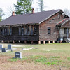 "Hannah Rosenwald School<br /> <br /> Hannah Rosenwald School is significant as a building associated with African-American education during segregation in South Carolina and as a building that embodies the distinctive characteristics of a Rosenwald school design. The Julius Rosenwald Fund focused on providing monies for the construction of modern school buildings for rural African-American children in the South that could serve as models for all rural schools. Twenty-six Rosenwald schools, the second-highest number in the state, were built in Newberry County. Hannah Rosenwald School was built during the 1924-1925 school year, replacing the older Free Hannah School. Known in Rosenwald School records as the ""Utopia School"" after the local community, Hannah Rosenwald School was built on four acres of land near Hannah A.M.E. Church, which relocated across the road from the school in 1952. The Rosenwald Fund donated $900, the African-American community donated $1000, and the public (both state and county) donated $2000 to build a three-teacher type school on a north-south orientation. Three-teacher schools were common in South Carolina, but most of them were built on an east-west orientation. Hannah followed the standard interior plan for a three-teacher school, which included three classrooms, three cloakrooms, an industrial room, and an entry hall. The current openings between the classrooms indicate where blackboards once hung. Hannah School closed in the 1960s when it was consolidated with the Newberry and Silverstreet schools. Listed in the National Register January 22, 2009."