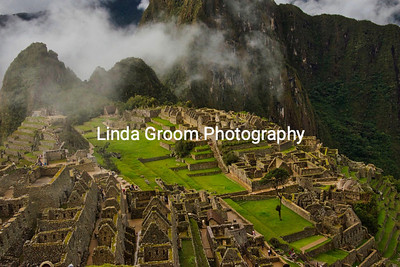 Mists Lift From Machu Picchu