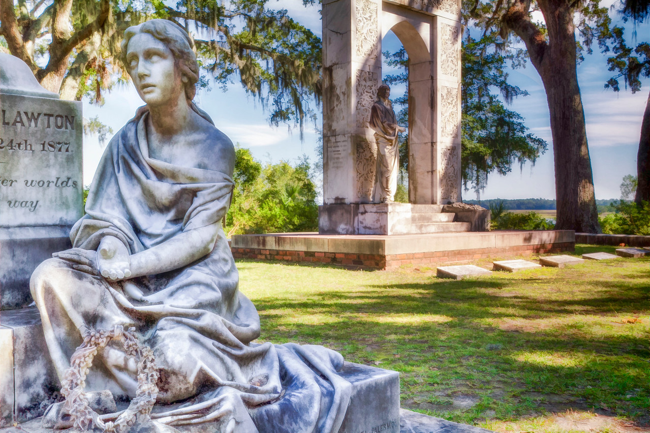 Bonaventure Cemetery,  Savannah, GA-1