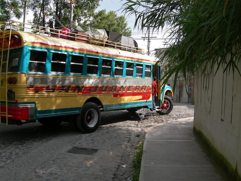 Chicken Bus - Lake Atitlan, Guatemala