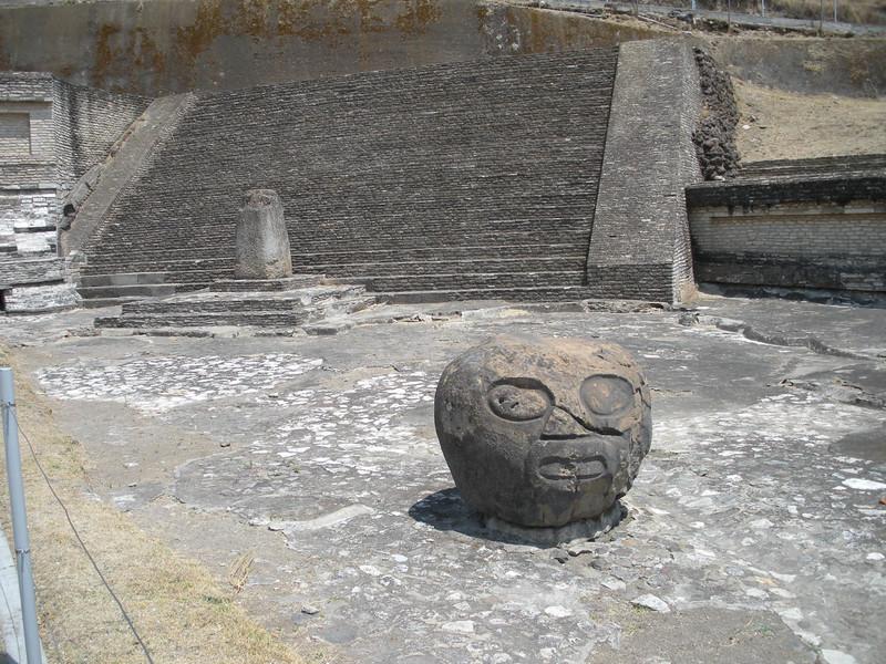Olmec Head - Cholula