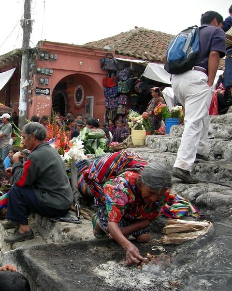 Mayan Church Yard - Guatemala