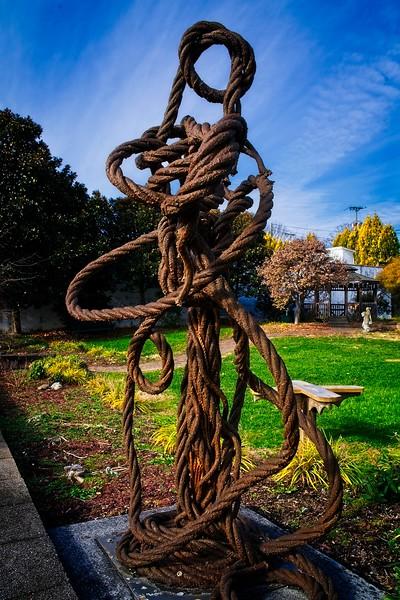 Abingdon VA - Rope Sculpture_RLW6651