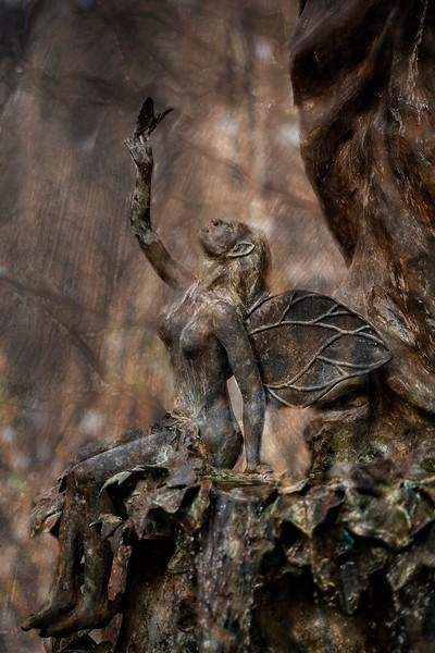 Abingdon VA - Midnight Summer's Dream Fountain Fairy & Butterfly copy