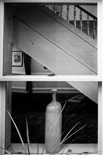 Abingdon VA - Vase B&W