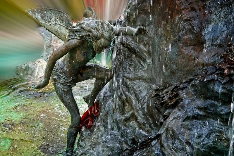 Abingdon VA - Midnight Summer's Dream Fountain 2