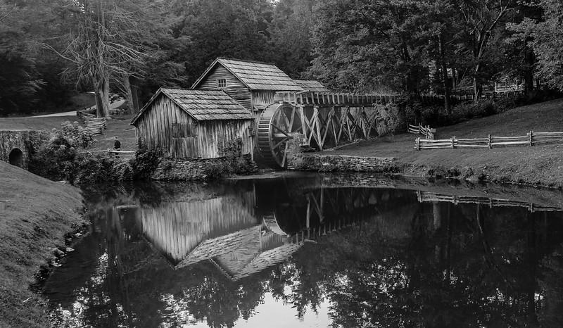 Blue Ridge Parkway - Mabry Mill -0163
