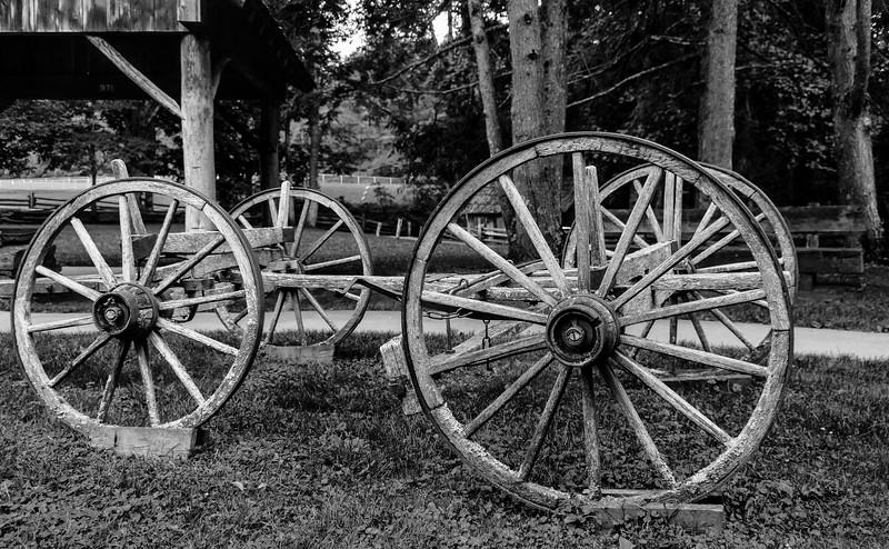 Blue Ridge Parkway - Wheel & Cart-0178