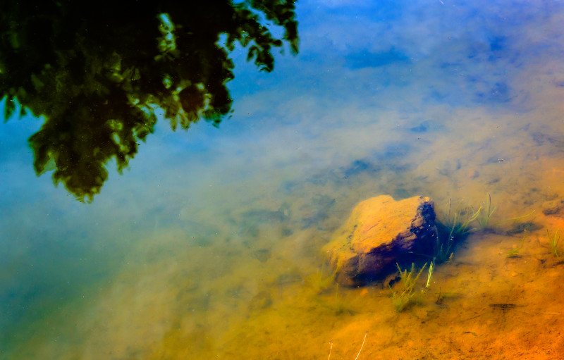 Blue Ridge Parkway - Woodberry Inn - Rock in Lake-0239