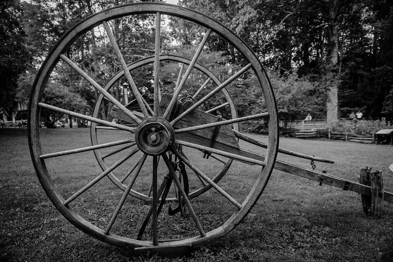 Blue Ridge Parkway - Wheel & Cart-0175