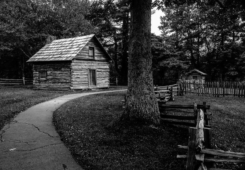 Blue Ridge Parkway - Puckett's Cabin-0241