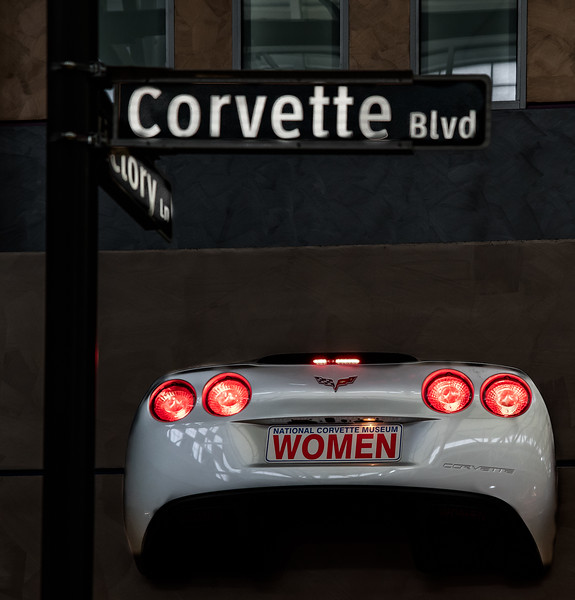 National Corvette Museum - Women @ Corvette Blvd