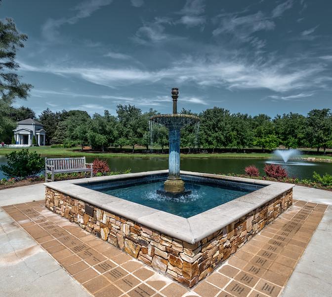 Blue Fountain 3-