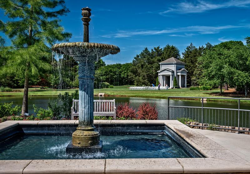 Blue Fountain-