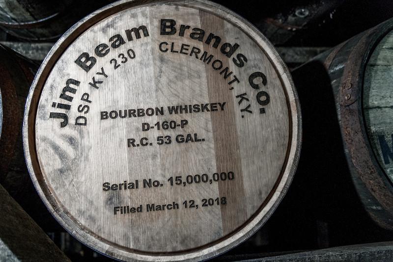 Jim Beam - 15 million Barrels