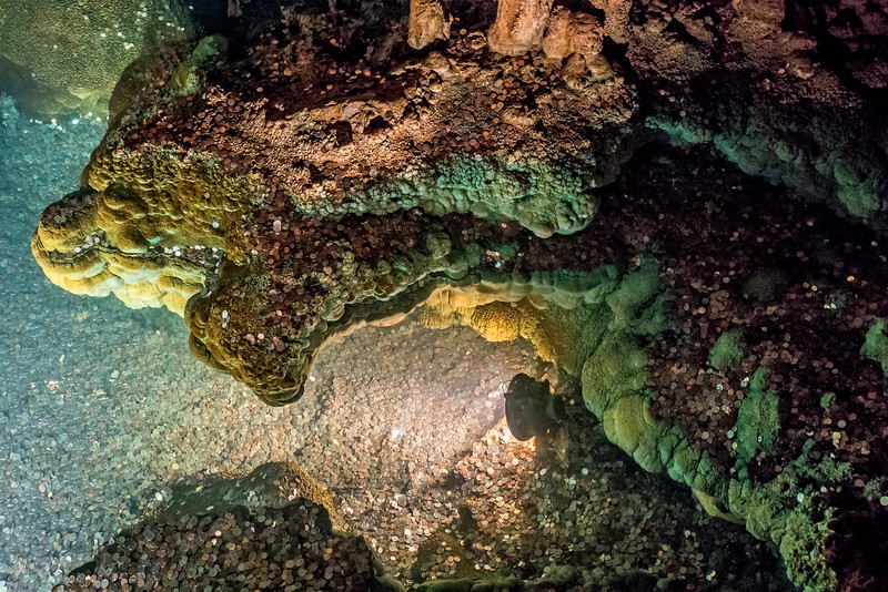 Luray Caverns -  Speleothems  Cooper Pool 2-1