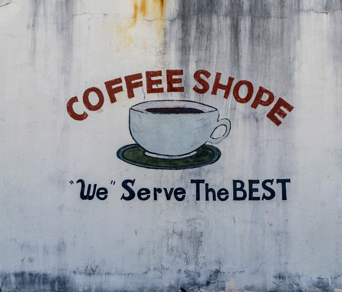 Muscle Shoals - Coffee Shop Sign-03550
