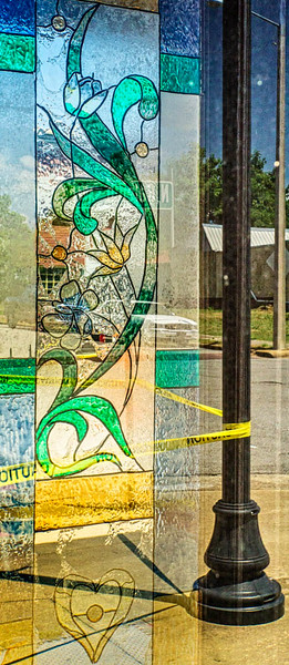 Muscle Shoals - Stained Glass Through Window