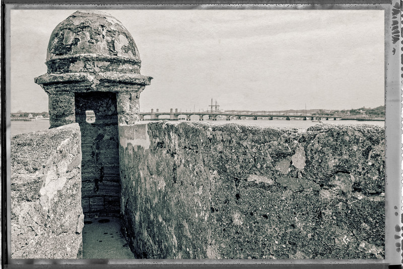 Castillo de San Marcos Magazine - Watch Tower 2-0107