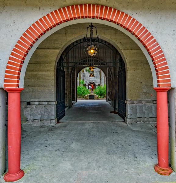 St Augustine -  Lightner Museum Arches-