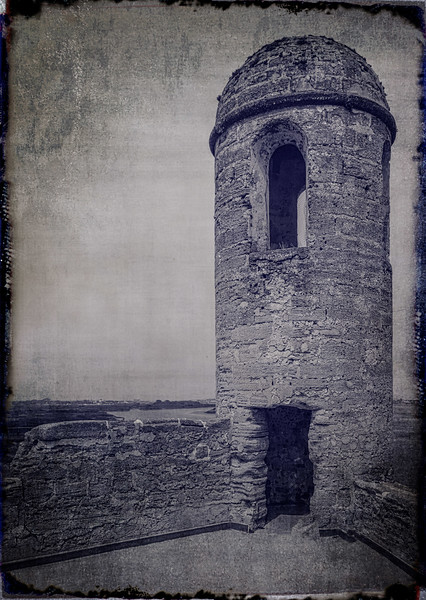 Castillo de San Marcos Magazine - Watch Tower-0102