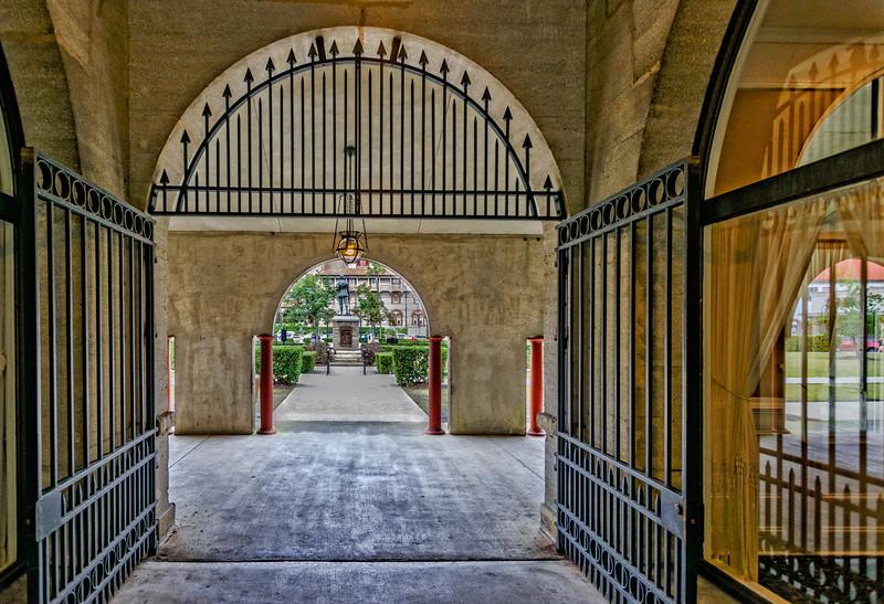 St Augustine -  Lightner Museum Corridor 2-0165