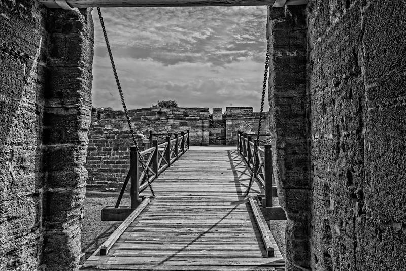 Castillo de San Marcos Magazine - Draw Bridge-0114