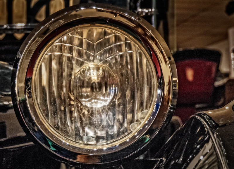 Luray Caverns Car & Carriage Museum - Dodge Headlight-1