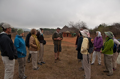 Peter talks to us about our upcoming hike.