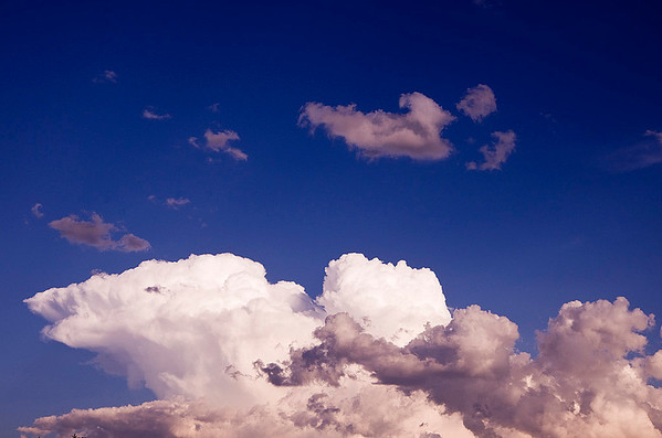 Storm Clouds at Sunset (22 Photographs)
