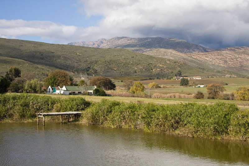 Route 62 - Barrydale -lunch stop at the Blue Cow