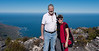 Susie and Peter at the top of Table Mountain, Cape Town, S.A.