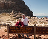 Susie and Peter at the Cape of Good Hope, obviously. Thanks to whoever took this photo!