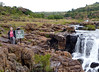 Susie at Bourke's Luck Potholes.  Blyde River Canyon in Mpumalanga.