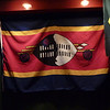 I found a Swaziland flag on the wall of our hotel's sports bar.