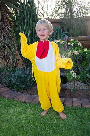 Chicken Man (12 Photographs)