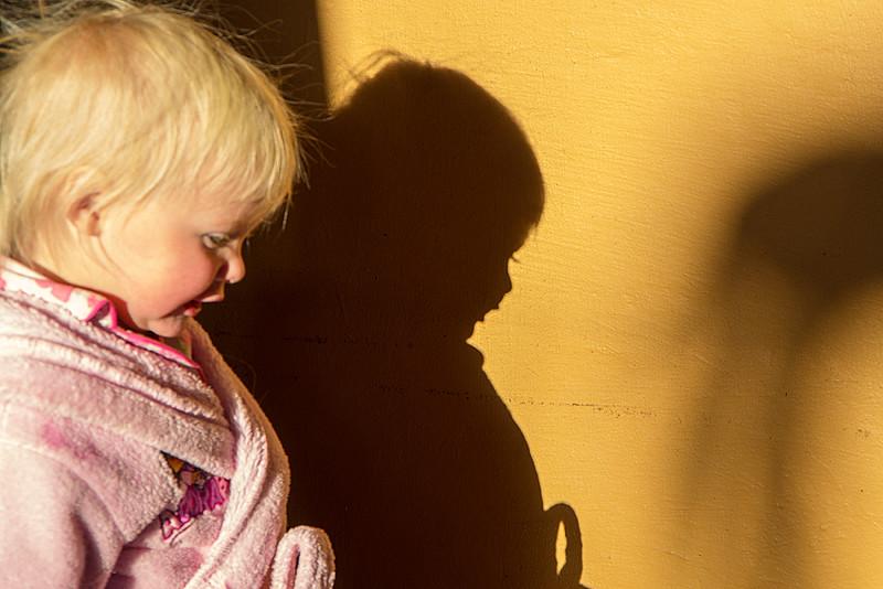 Baby Girl's Shadow