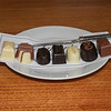Hidden Valley - each chocolate is made with a bit of the wine it is paired with.