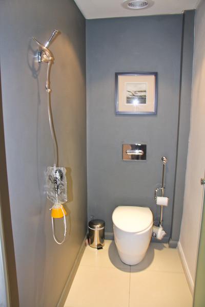 Protea Hotel - the bathroom was... special.