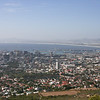 View of Cape Town from the bottom of Table Mountain Cable Car