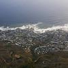 Cape Town below