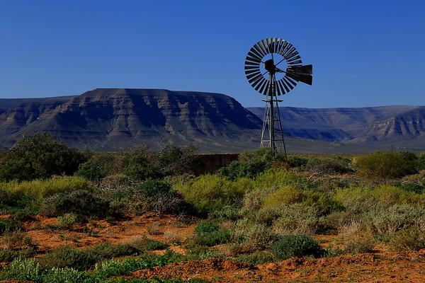 Windmill in the bush